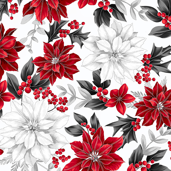 Poised Poinsettia