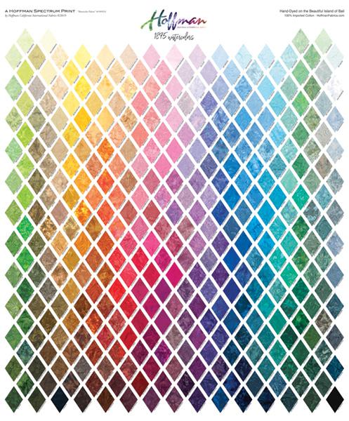 Watercolor Color Card