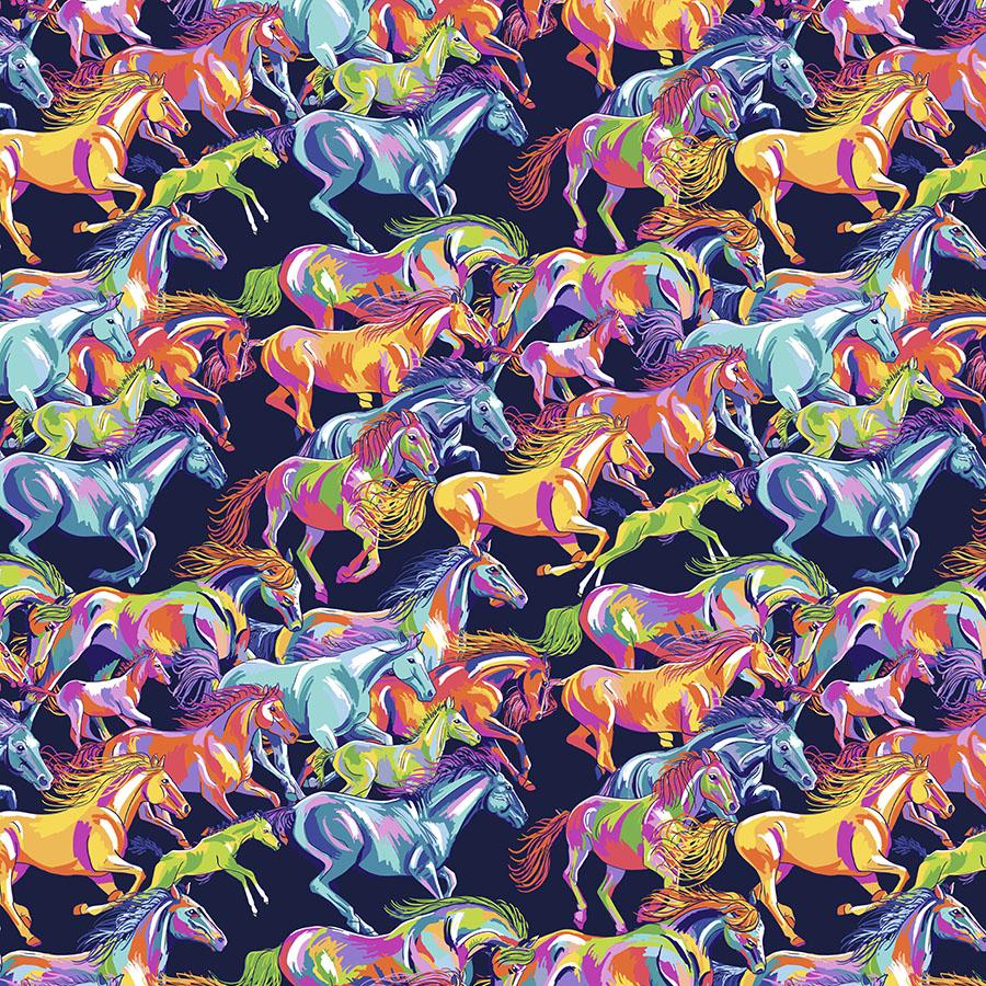 Calico Horses