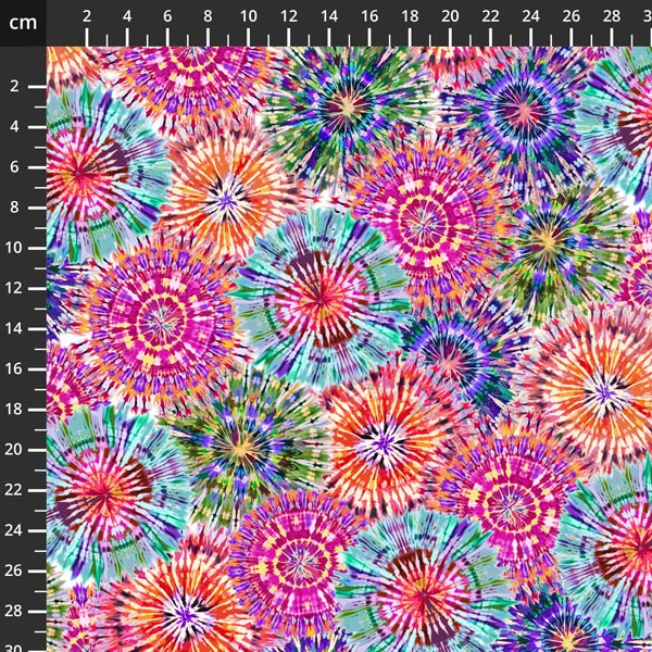"Starburst 108"" Quilt Backs - Digital"