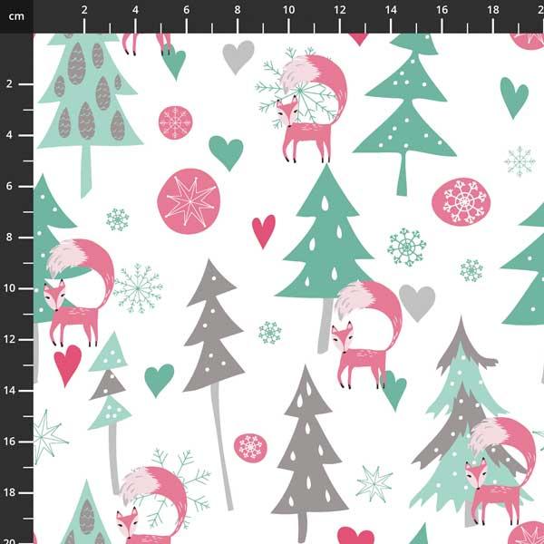 Penn2Paper - Snowy Day Flannel