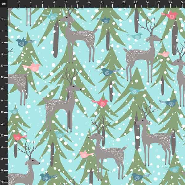 Penn2Paper - Snowy Weather Flannel