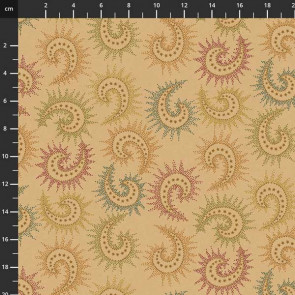 """Spiced Paisley 108"""" Wide"""