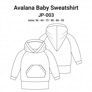 AVALANA Garment Pattern